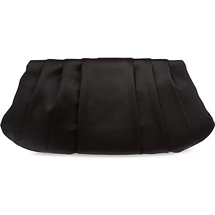 NINE WEST Bridal satin clutch (Black