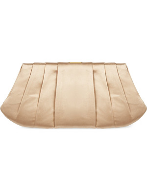 NINE WEST Bridal satin clutch