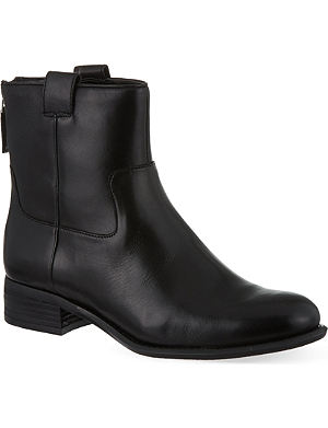 NINE WEST Jareth leather ankle boots