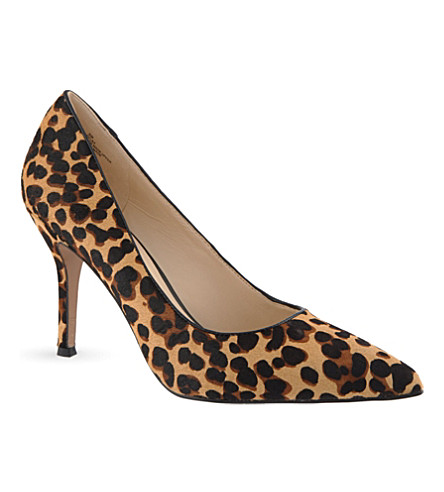 NINE WEST Flax5 leopard print courts (Brown/oth