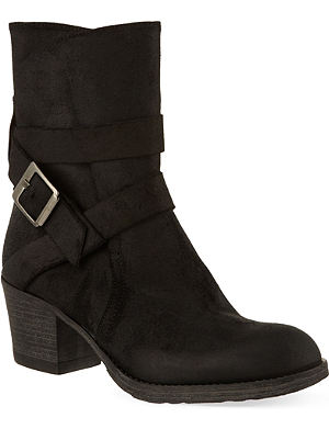 CARVELA Silk suede ankle boots