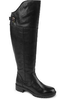 CARVELA Wrap knee-high riding boots