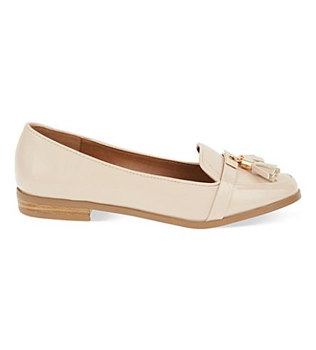 MISS KG Nadia tassel loafers (Nude