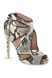 KG KURT GEIGER Hattie cut-out sandals