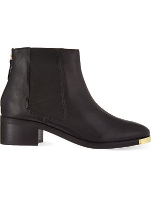 KG KURT GEIGER Shadow leather ankle boots