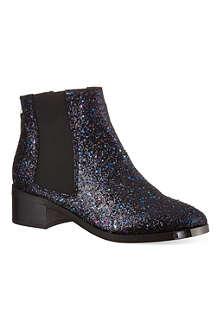 KG KURT GEIGER Shadow glitter detail ankle boots