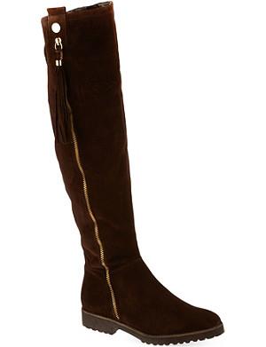 CARVELA William suede knee high boots