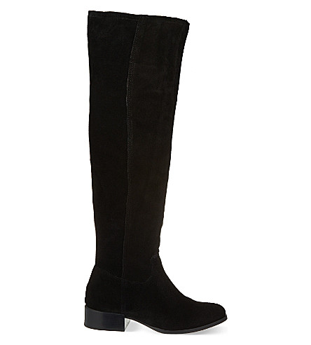 CARVELA Whit knee-high boots (Black