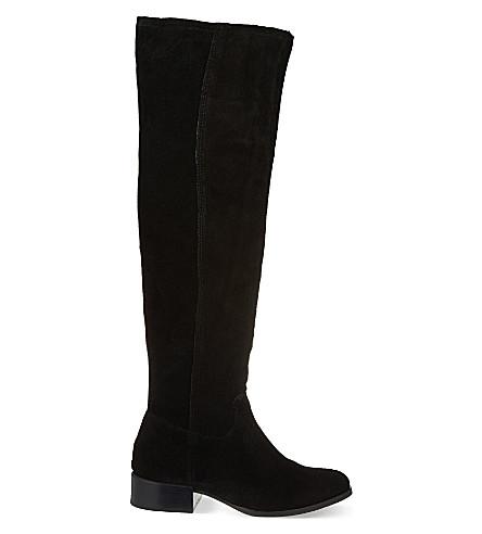 CARVELA Whit knee-high boots (Black