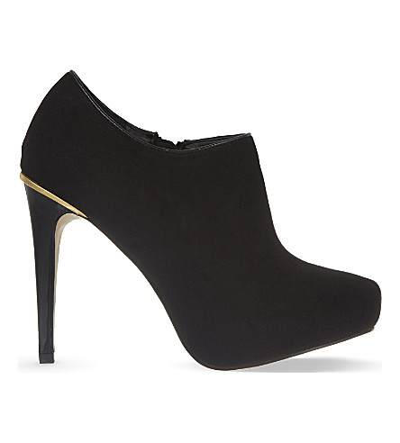 MISS KG Barrie suedette ankle boots (Black
