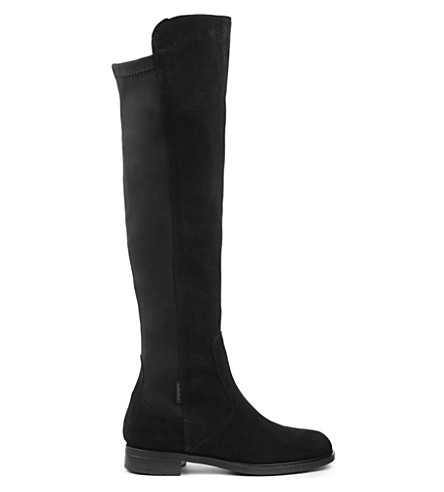 CARVELA Walnut knee-high boots (Black
