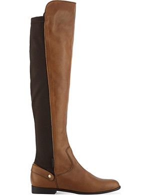 CARVELA Wood knee-high boots