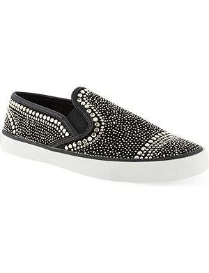 CARVELA Lyon stud embellished sneakers