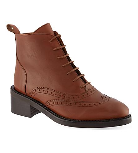 KG KURT GEIGER Savoy ankle boots (Tan