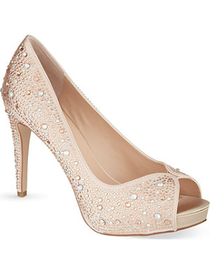 CARVELA Grecian peep-toe heels