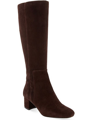 NINE WEST Facts block heeled knee boots