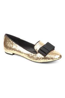 KG KURT GEIGER Lavish glitter loafers