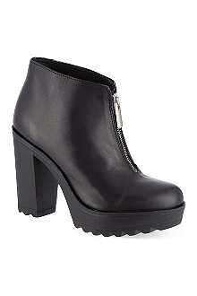 KG KURT GEIGER Storm leather ankle boots