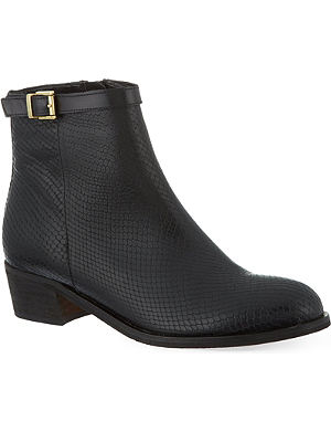 CARVELA Spectacle leather ankle boots