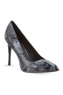 KG KURT GEIGER Beauty snake print courts