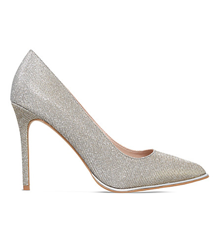 KG KURT GEIGER Beauty metallic courts (Silver