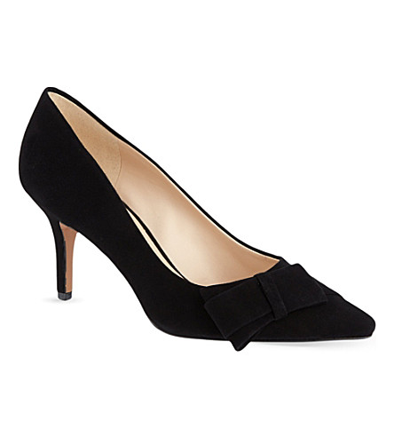 NINE WEST Kurtail suede courts (Black