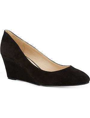 NINE WEST Ispy suede wedge heels