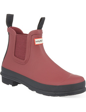 HUNTER Original Chelsea wellie boots