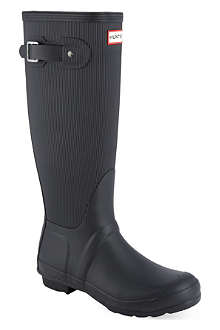 HUNTER Original ribbed wellies