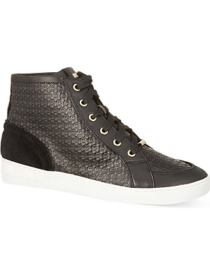 MICHAEL MICHAEL KORS Breck high-top trainers