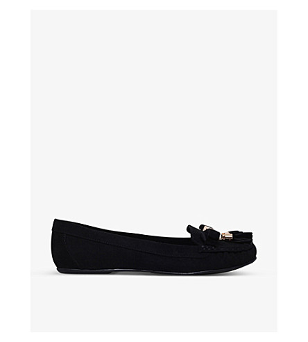 CARVELA Leaf loafers (Black