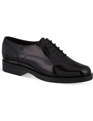 CARVELA Patent leather lace-up brogues
