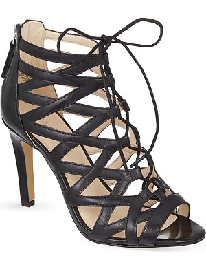 NINE WEST Authority leather sandals