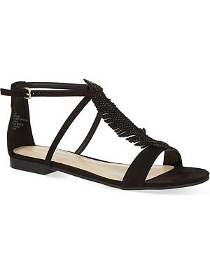 NINE WEST Zirysa suede sandals