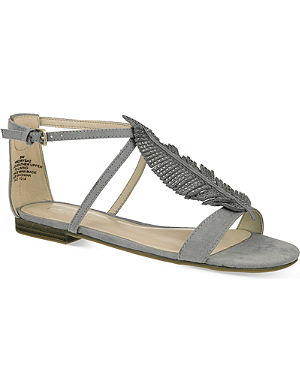 NINE WEST Zirysa suede sandals