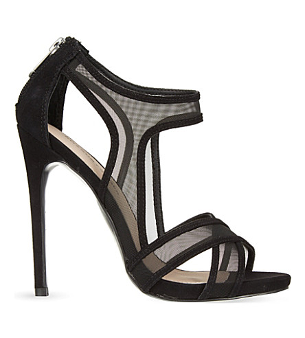 KG KURT GEIGER Haze heeled sandals (Black