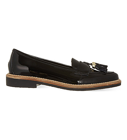 KG KURT GEIGER Lucien tasselled loafers (Black