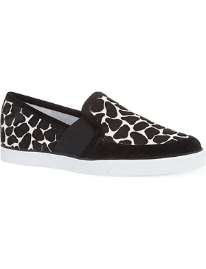 NINE WEST Bonkers leather loafers