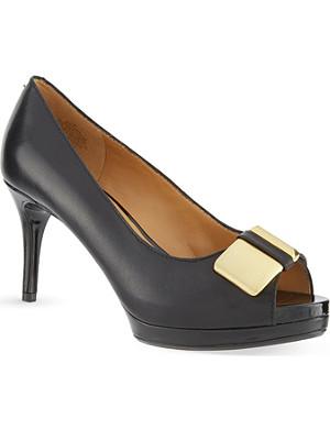 NINE WEST Cora peep-toe heels