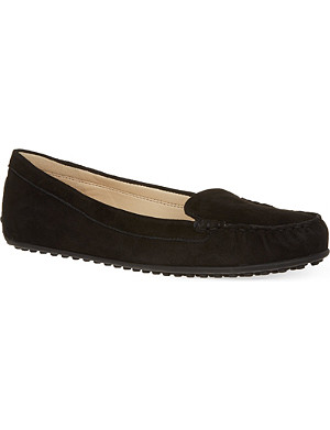 NINE WEST Happart suede driving shoes