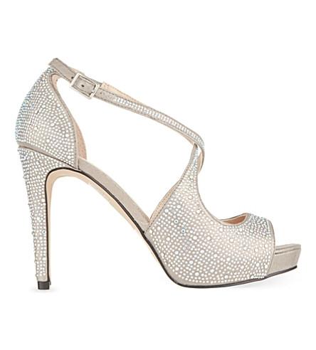CARVELA Gift heeled sandals (Silver