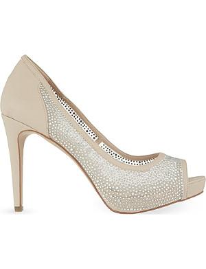 CARVELA Glossie peep-toe heels