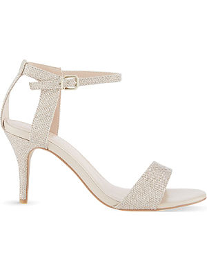 CARVELA Kollude metallic heeled sandals