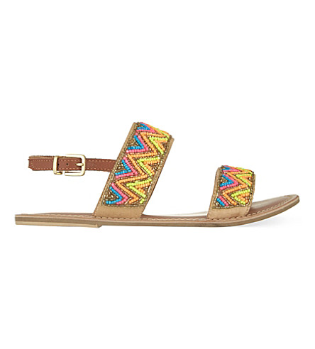 MISS KG Roxanne beaded sandals (Mult/other