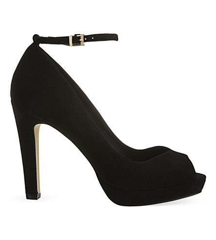 MISS KG Anete suede courts (Black