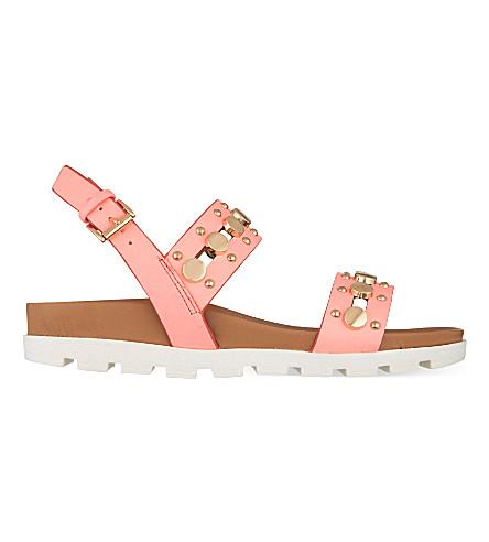 MISS KG Dena studded sandals (Pink