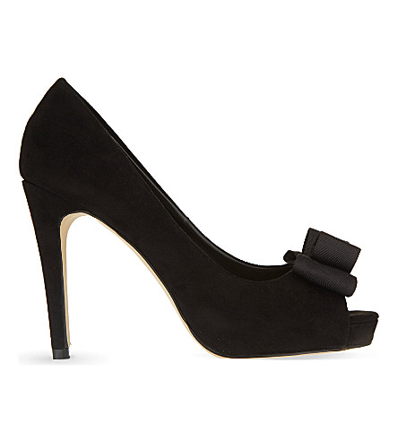 MISS KG Carolina suedette courts (Black