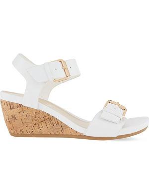 CARVELA COMFORT Splinter wedge sandals