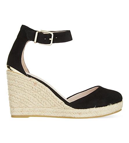 CARVELA Kold espadrille wedge heels (Black