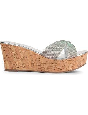 CARVELA Kable metallic wedge sandals